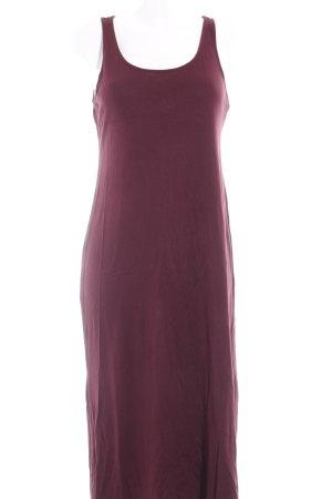 H&M Midikleid purpur Casual-Look