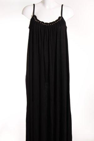 H&M Midi Dress black-silver-colored casual look
