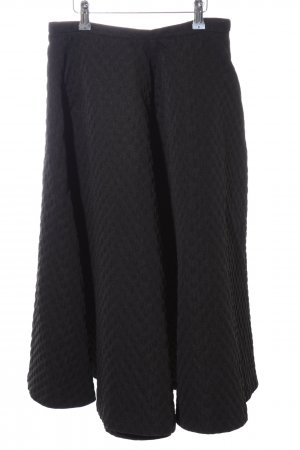 H&M Midi Skirt black casual look