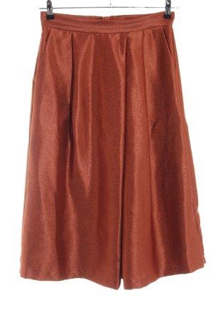 H&M Midirock bronzefarben Elegant
