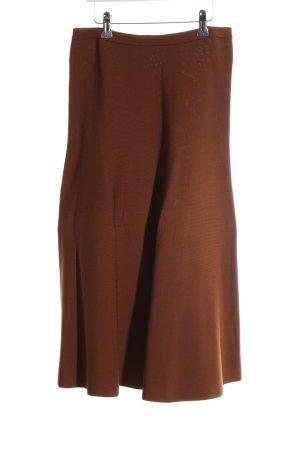 H&M Midirock bronzefarben Business-Look