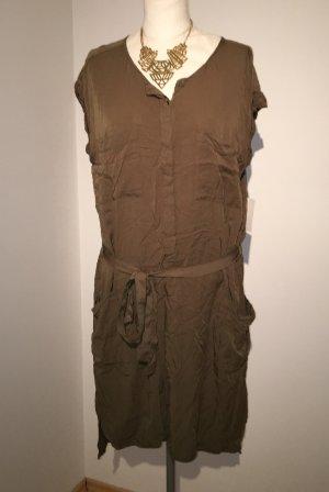 H&M Military Kleid Gr. 46 Khaki NEU