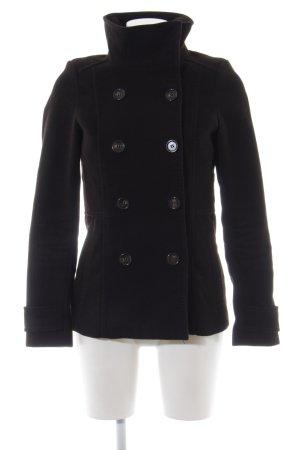 H&M Militaryjacke schwarz klassischer Stil