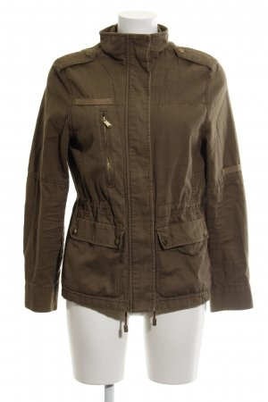H&M Military Jacket green grey casual look