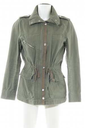 H&M Militair jack khaki casual uitstraling