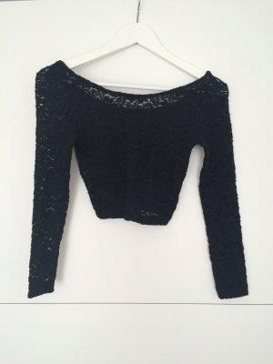 H&M Mini Bluse in black