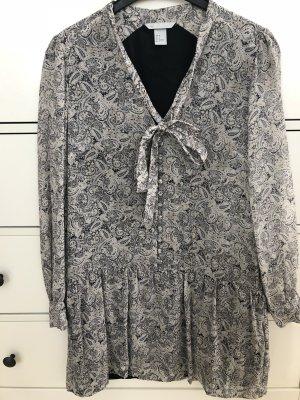 H&M Mini Seidenkleid mit Schleife