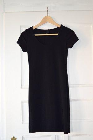 H&M, Minikleid, Basic schwarz