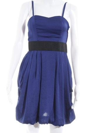 H&M Minikleid blau Party-Look