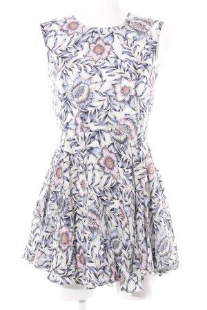 H&M Minikleid Blumenmuster Boho-Look