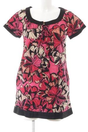 H&M Minikleid Blumenmuster extravaganter Stil