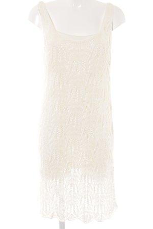 H&M Minikleid creme Boho-Look