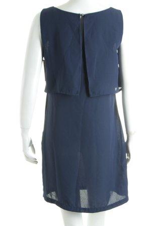H&M Minikleid dunkelblau Lagen-Look