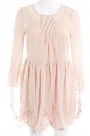 H&M Minikleid rosé Casual-Look