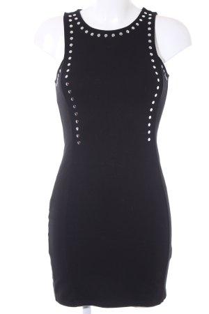 H&M Minikleid schwarz schlichter Stil