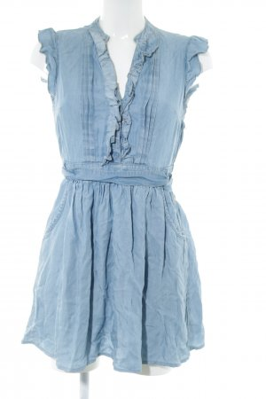 H&M Minikleid blau Casual-Look