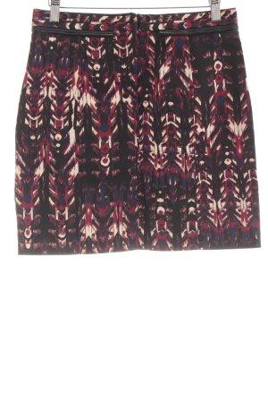 H&M Minirock abstraktes Muster extravaganter Stil