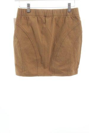 H&M Minirock beige schlichter Stil