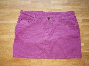 H&M L.O.G.G. Jupe violet coton