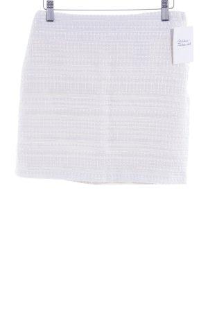 H&M Minirock creme-weiß Casual-Look