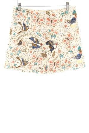 H&M Minirock florales Muster extravaganter Stil