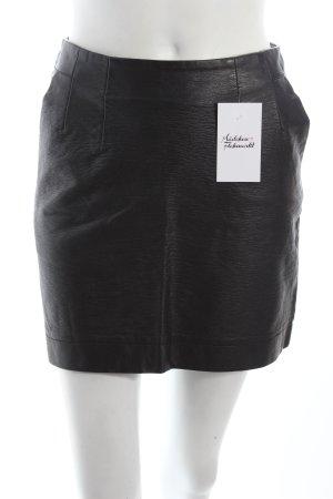 H&M Minirock schwarz