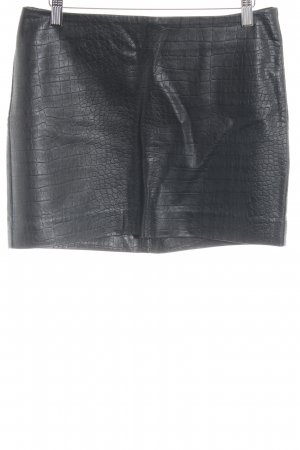 H&M Minirock schwarz Casual-Look