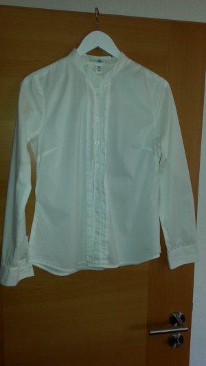 H&M - modern Klassik - Bluse weiß Baumwolle gr.40