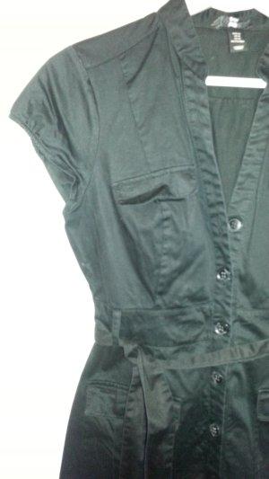H&M - modern Klassik - Kleid schwarz - super Schnitt Gr.40