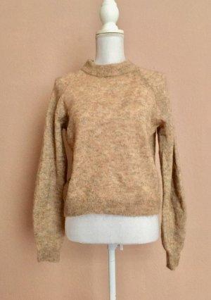 H&M Maglione di lana beige Mohair
