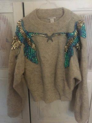 H&M mohair pullover mit Schwalben (ausverkauft)