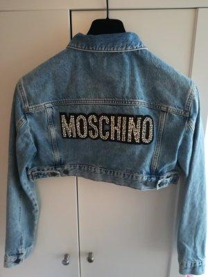 H&m Moschino Jeans Jacke Gr M Neu