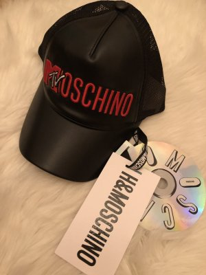 Moschino Baseball Cap black-red