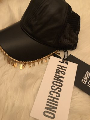 Moschino Baseball Cap black-gold-colored