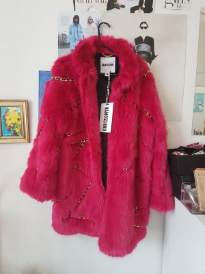 Moschino Fake Fur Jacket multicolored
