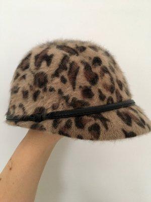 H&M Cappello in pelliccia multicolore