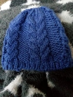 H&M Cap cornflower blue