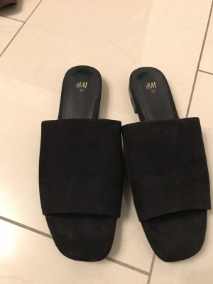 H&M Mules black