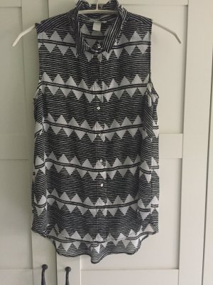 H&M Musterbluse