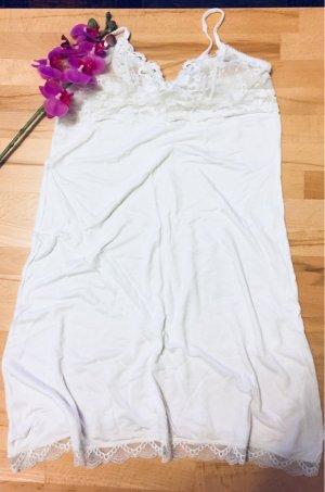 H&M Negligee white