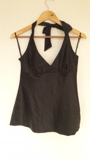 H&M Neckholder Satin Top Party 40