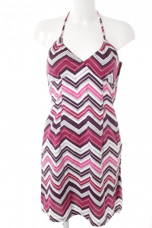 H&M Halter Dress abstract pattern casual look