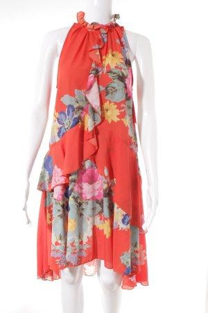 H&M Robe dos-nu motif de fleur style décontracté