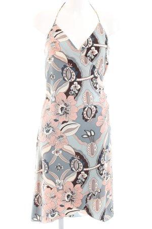 H&M Halter Dress flower pattern casual look