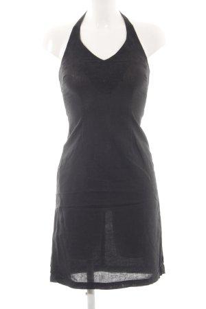 H&M Halterjurk zwart casual uitstraling