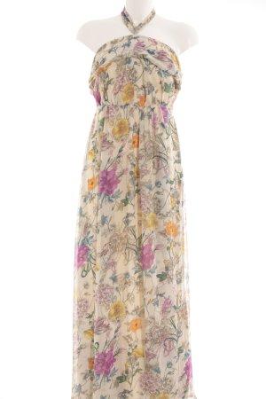 H&M Neckholderkleid florales Muster Casual-Look