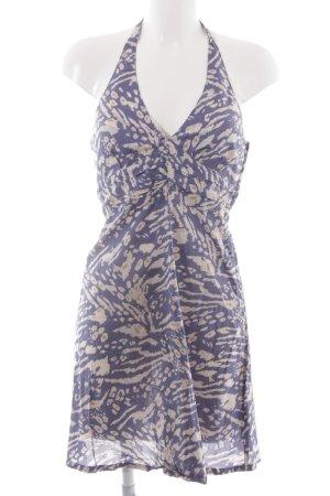 H&M Robe dos-nu motif léopard style romantique
