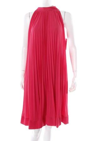 H&M Neckholderkleid magenta Eleganz-Look