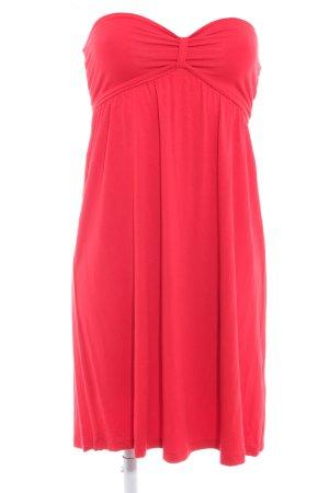 H&M Halterjurk rood romantische stijl