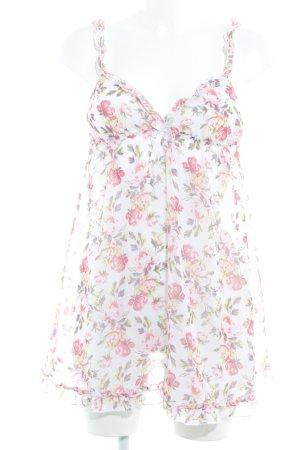 H&M Négligé motif de fleur style romantique